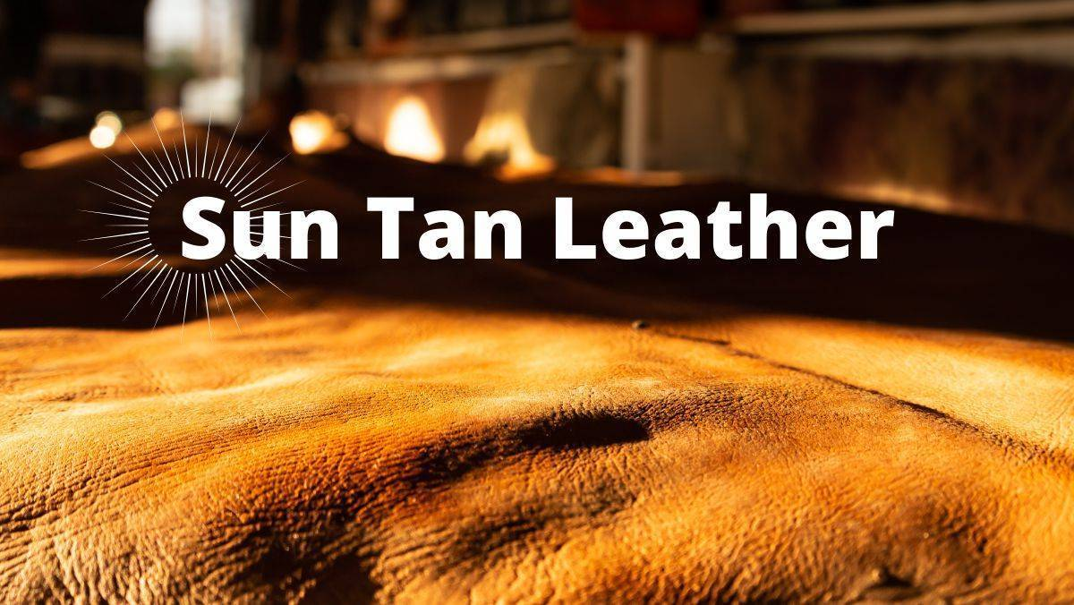 what is suntan leather