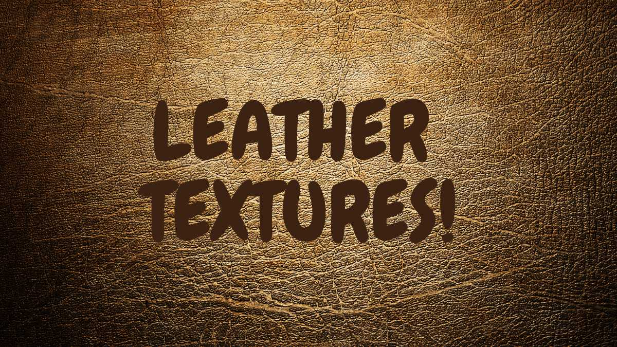 WHAT IS TEXTURED LEATHE